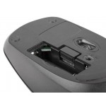 Natec Wireless Optical mouse MERLIN 1600 DPI, NANO 2.4 GHz, USB, Black