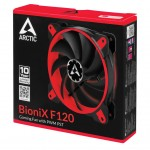 Arctic fan BioniX120 Red PWM PST (120x120x25mm)