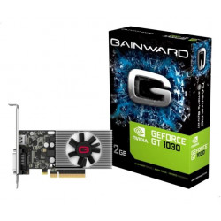 GAINWARD GeForce GT 1030, 2GB DDR4, HDMI, DVI